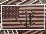 NEW!  Compound Bow Flag decal