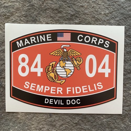 DEVIL DOC 8404 Fat head style decal