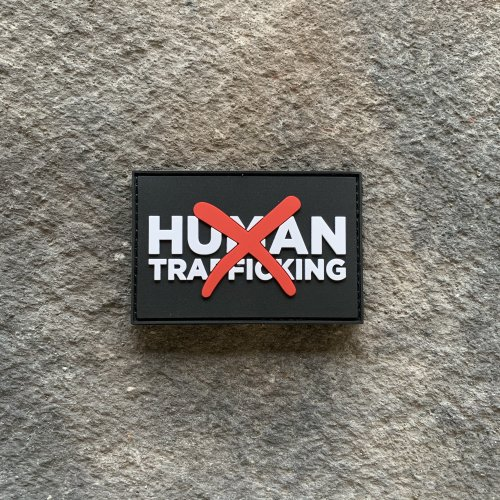 FUNDRAISING PATCH: Ryan Weaver Heroes Collection- Anti Human Trafficking PVC Patches