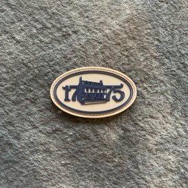 1775 Tun Tavern Oval PVC Patch
