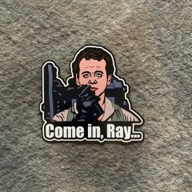 Ghostbusters Come in Ray… Vinyl Decals
