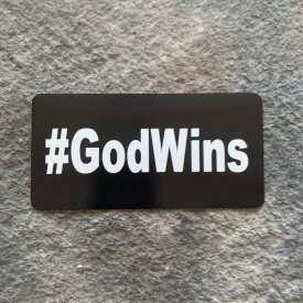 #GodWins Vinyl Decal