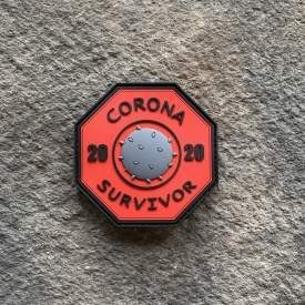 Corona Survivor PVC Patch