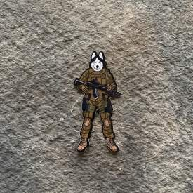 Tactical Husky Vinyl Decal
