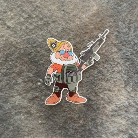 Dwarf Squad:   Doc Vinyl Decal