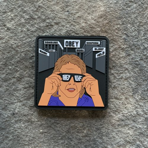 They Live PVC Patch