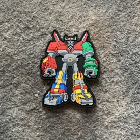 Voltron PVC Patch