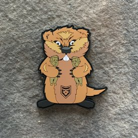 CaddyShack Gopher PVC Patch