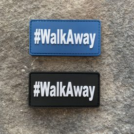 Walk Away PVC Patch