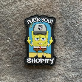 Fuck Shopify PVC Patch