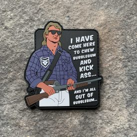 They Live:  All out of bubblegum PVC Patch