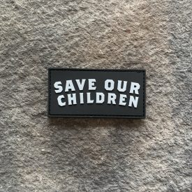FUNDRAISER:  Save Our Children PVC Patch