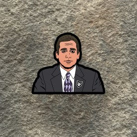 The Office:  Michael Scott Vinyl Decal