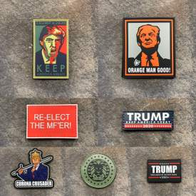 Trump 2020 Super Pack PVC Patches
