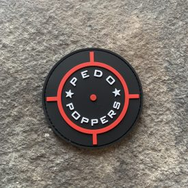 Pedo Poppers PVC Patch