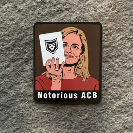 Notorious ACB Vinyl Decal