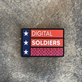 General Flynn:  Digital Soldiers Embroidered Patch
