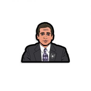 The Office: Michael Vinyl Decal