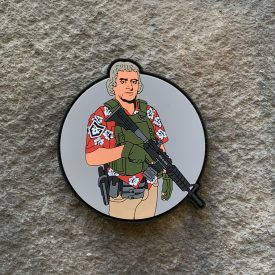 Thomas Jefferson Hawaiian Shirt PVC Patch