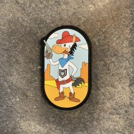 Quick Draw McGraw PVC Patch