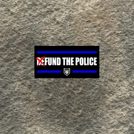 Fund the Police Vinyl Decal