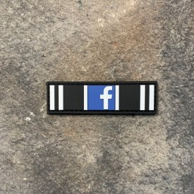 Facebook Action Ribbon:  30 Day Ban PVC Patch