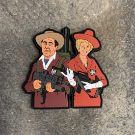 Gilligans Island 2A Castaways:   The Millionaire and His Wife PVC Patch