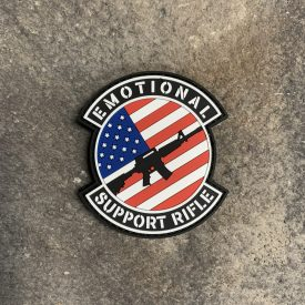 Emotional Support Rifle PVC Patch