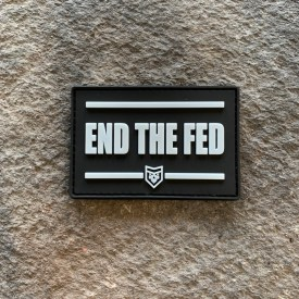 END THE FED PVC Patch