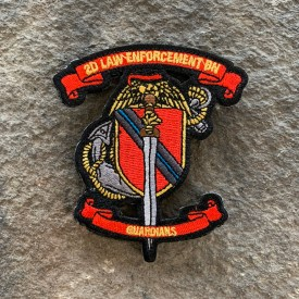 2D LEB Guardians Embroidered Patch