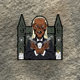 Crypt Keeper with Castle Vinyl Decal