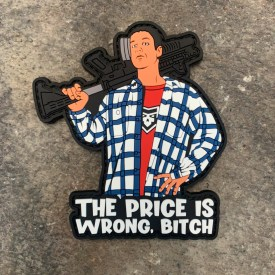Happy Gilmore:  The Price is Wrong PVC Morale Patch