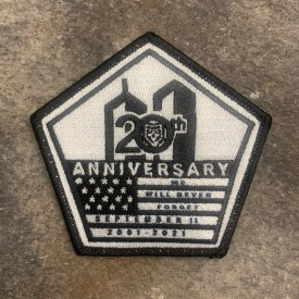 9/11 20th Anniversary Embroidered Morale Patch