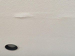 ceiling repair - crack damage