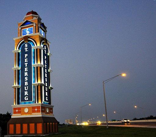 St. Petersburg FL - Sign
