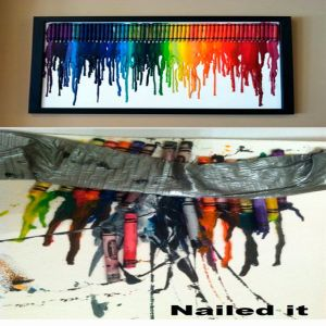 Kids crayon project gone bad