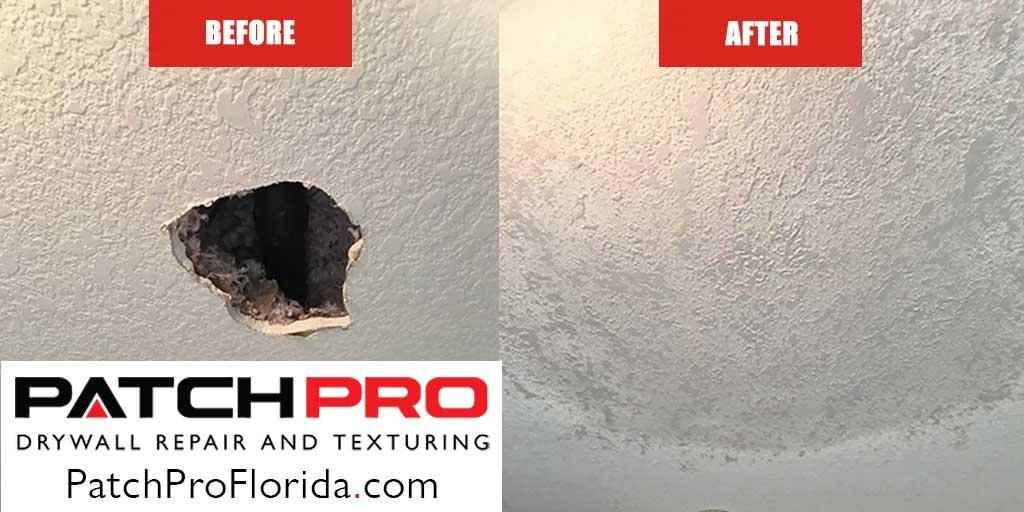 Drywall Damage - Wall Repair