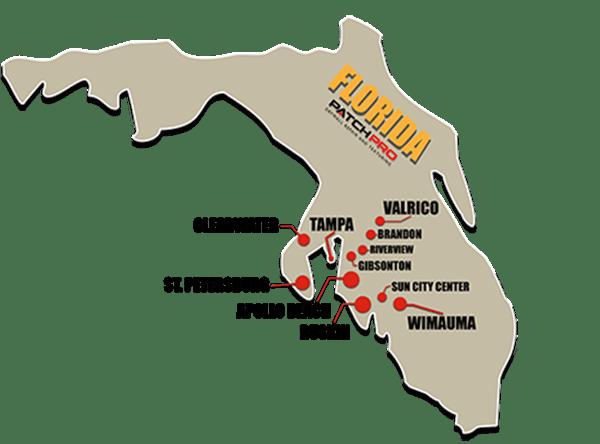 Service area - Florida Drywall Repair