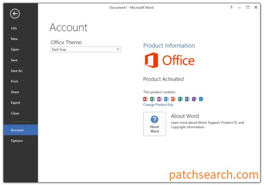 Microsoft Office 2013 Crack + Product Key Full Latest