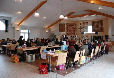 Une Journée de l'Amitié dans une délégation France Patchwork. Une occasion d'apprendre le patchwork dans la convivialité