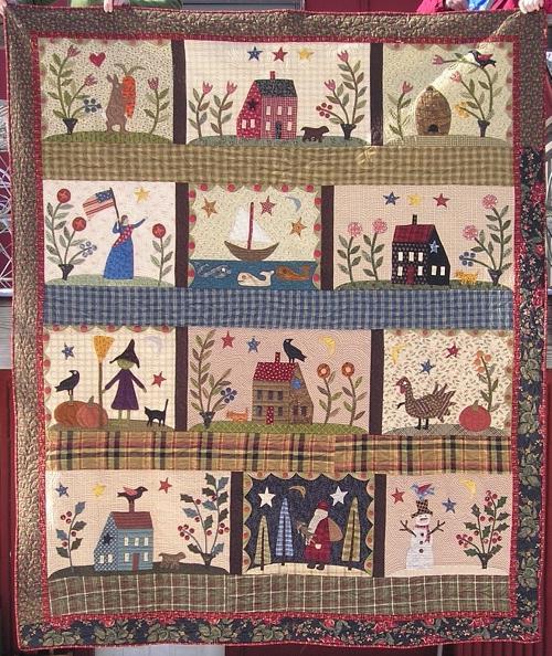 Jan Patek country quilt