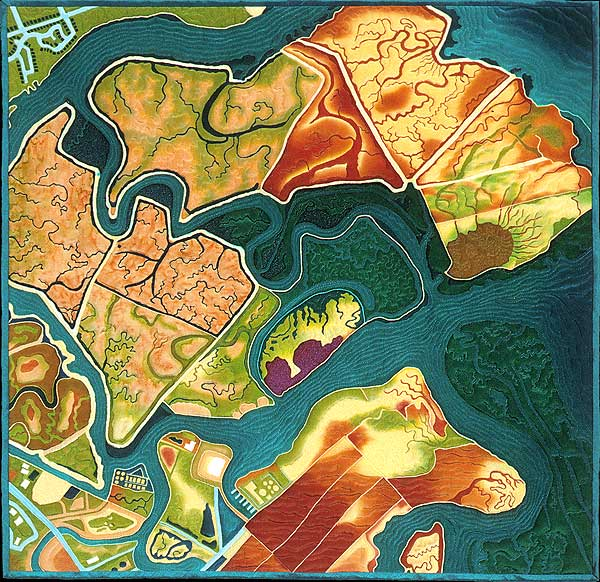 Quilt cartographie