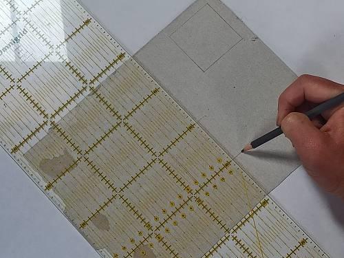 préparer ses gabarits de patchwork