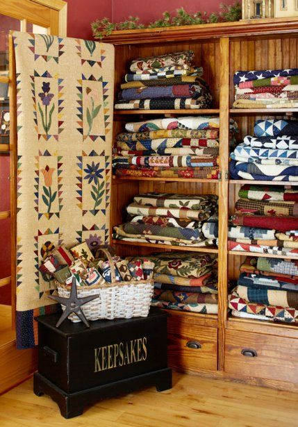 Comment stocker ses patchwork ?