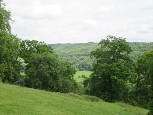 View from Claverton Manor