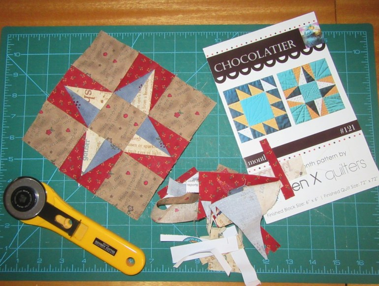Practicing foundation paper piecing