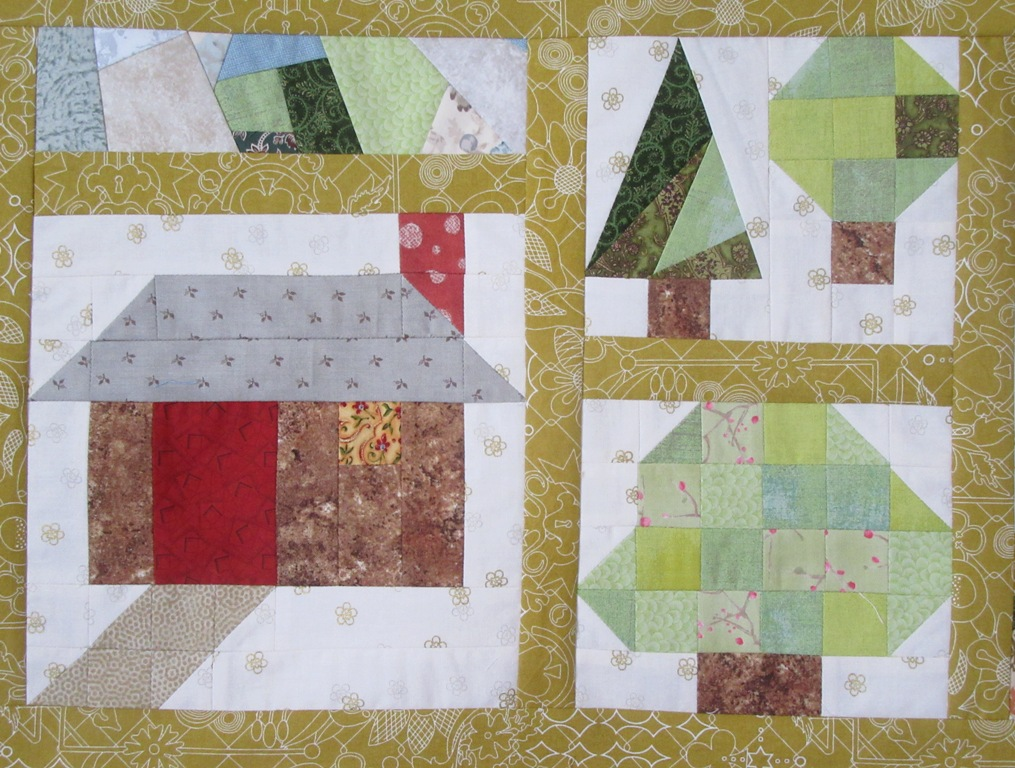 Close up 'Into the Woods' by New Every Morning Patchwork & Quilting