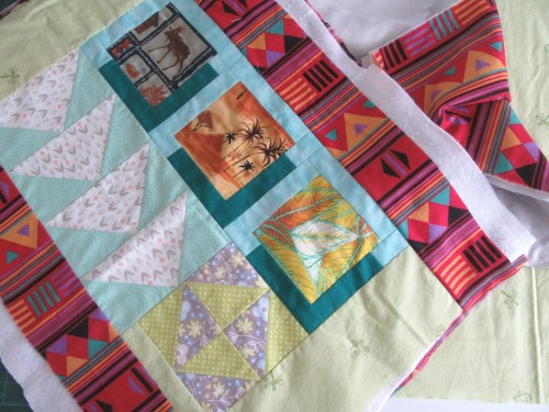 Practice Quilt Sandwich by Allison Reid