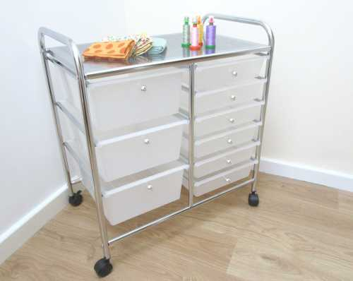 Hobbycraft Storage Trolley by Allison Reid