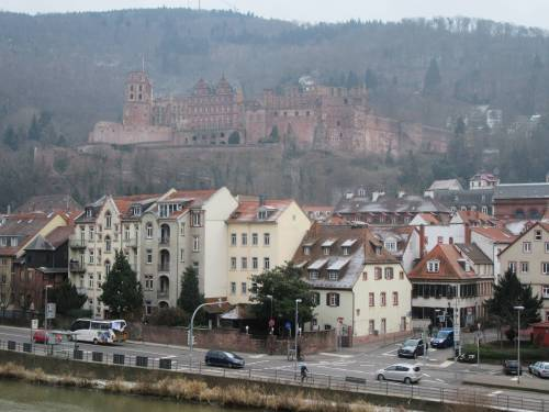 Heidelberg Castle by Allison Reid